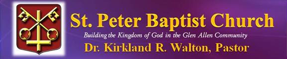 TDF Sponsor St. Peter Baptist Church